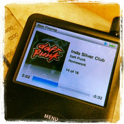 This is happening right now. #daft #punk #homework  (Taken with instagram)