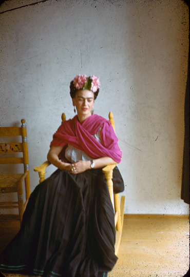 helloyouhellome:   Nickolas Muray'Frida Kahlo'c.1940  Hello Frida.