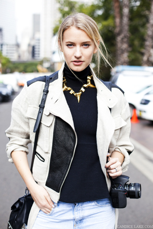 Street style: Australian Fashion Week 2012