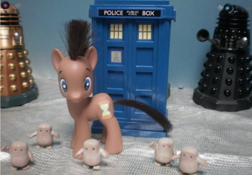 My Custom Doctor Whooves by ~Renzoknight Have you entered to win one of two custom pony commissions? Enter now and help a cat!