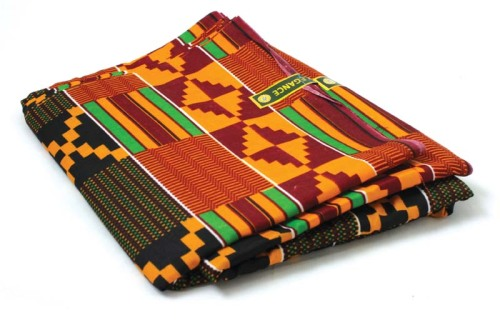 i have this kente fabric.
