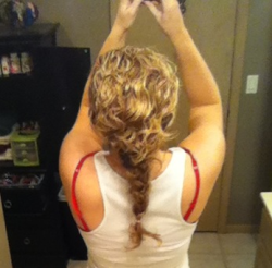 Curly hair braid :)