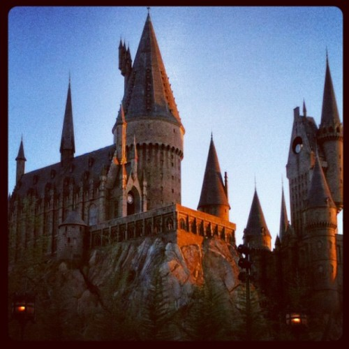 #hogwarts #universal #beautiful (Taken with instagram)