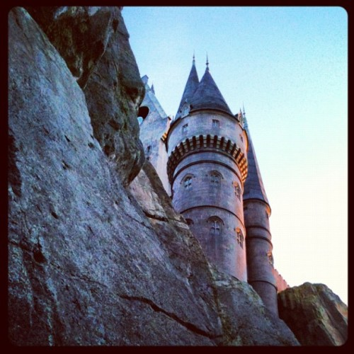 #universal #harrypotter #hogwarts (Taken with instagram)