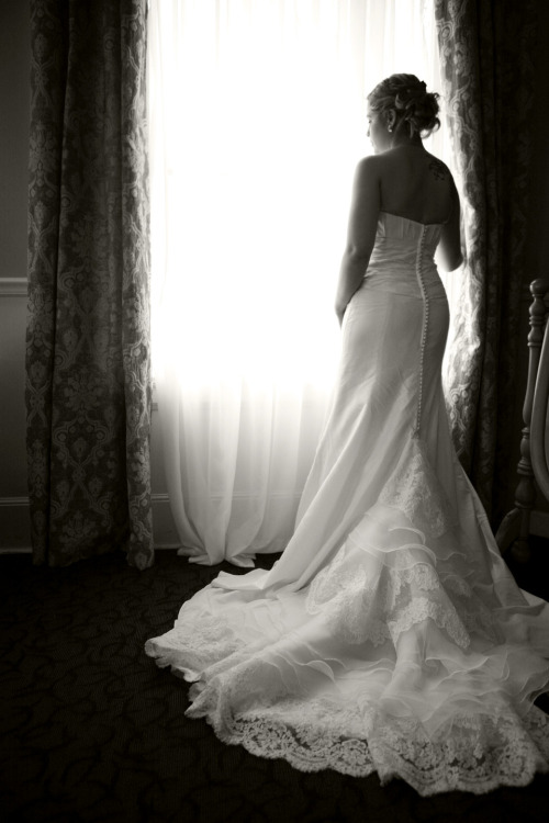 The beautiful bride.  I shoot weddings.