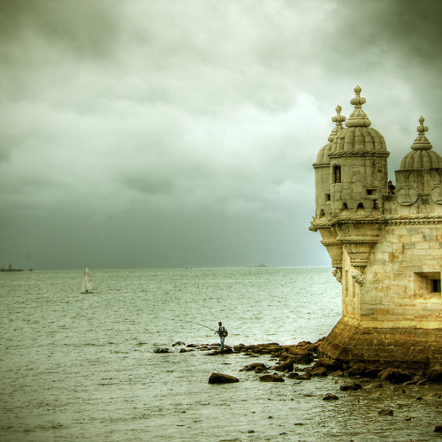 lissabon - torre de belem 2 by riisli on Flickr. I took a very similar photo of this same tower, only my photo is lacking the impact I see here. Mine is rather sterile and chilly in comparison with the lush warm tones this photographer captured, and I also struggle with the cropping and framing of mine whereas this one just effortlessly works.  Not sure what the magic behind this is, but I'm determined to find out.