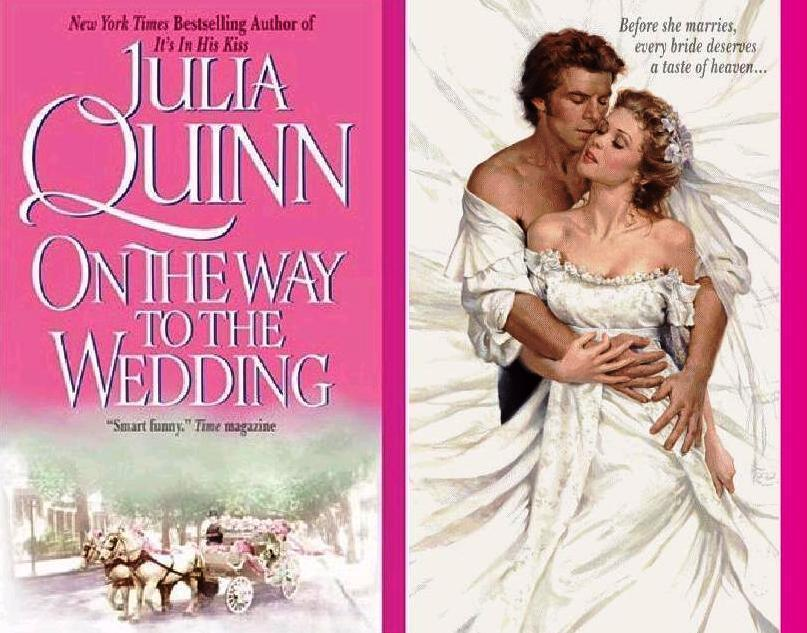 "romanceclub:  On the Way to the Wedding by Julia Quinn You guys probably know that I think Julia Quinn is totally overrated. If you didn't know that, then I have a newsflash: I think that Julia Quinn is totally overrated. Or at least I DID. My change of heart came about after my friend Ali badgered me to read this book, which I did. Then I had several glasses of wine to drown out the horrid baby epilogue. Then I came here. You see, I reserve my best self for you guys.  Hold on, I'm going to get some ice cream.  I got some.  Okay, so the guy in this picture is Gregory Bridgerton. There are a whole lot of Bridgertons, and they go in alphabetical order from Anthony, the oldest, down to Hyacinth, the youngest, and this is the very last book. Since it is the last book, there are a lot of appearances from all the other siblings (although I can't remember anything about Eustace or Freud or whoever E and F are). But the one we care about is Gregory. Got it?  The lady is Lady Lucinda Abernathy, and her best friend is the epically hot Hermione Granger Watson. Hermione gets all the dudes. INCLUDING our own Mr. Bridgerton. What a twist, right?  Lucy decides to help Gregory flirt, since she is already ""practically engaged"" and you know what I am totally bored with plot summary, let's move on.  So my problem with Julia Quinn before was that her romances (okay, let's be real, I only read one) were totally standard, you know? They (it) weren't really that funny. I was not impressed. HOWEVER: this book had all the wit and charm I had been expecting. I quite enjoyed it! And, at the end (and this is totally rare): I DID NOT KNOW HOW IT WAS GOING TO RESOLVE ITSELF. It was not immediately obvious! So I quite enjoyed that. WARNING: This a book that is more sweet than sexy. There's totally sex, but not a lot of it.   Side Note: DO ANY OF YOU READ TESSA DARE? I tried to read A Week to be Wicked but I got through literally three pages before I put the book down in disgust. I will try again but I promise nothing. I also reread this but have not reviewed it, yet: Sloppy Firsts Next up: MOTHERFUCKING BITTERBLUE IS OUT TOMORROW, Y'ALL!!!! Apology: sorry, I wrote this under the influence and it's totally half-assed."