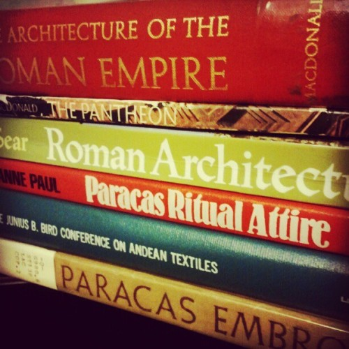 Research, research, research//life as an art history major (Taken with instagram)