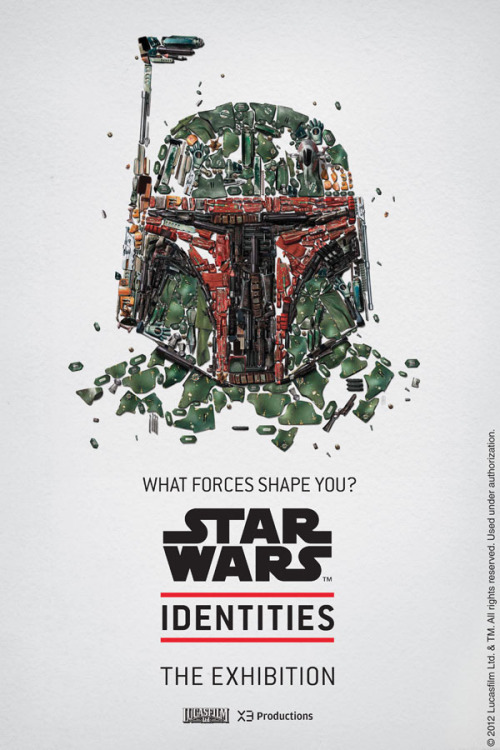 Star Wars Identities Posters.