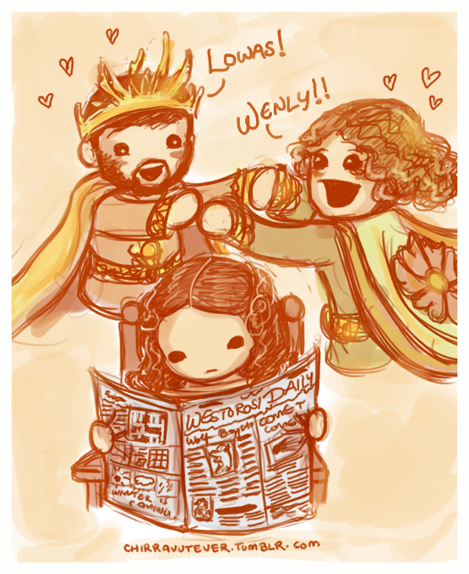 chirravutever:  Game of Thrones - This is how we OT3