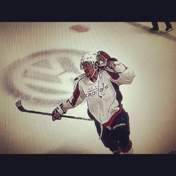 justinhall21:  Ovechkin with the GWG tonight. CAPS! (Taken with instagram)