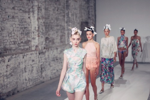oystermag:  Zimmermann: MBFWA Review and Gallery
