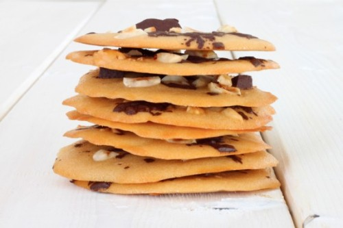 Chocolate and Hazelnut Honey Wafers