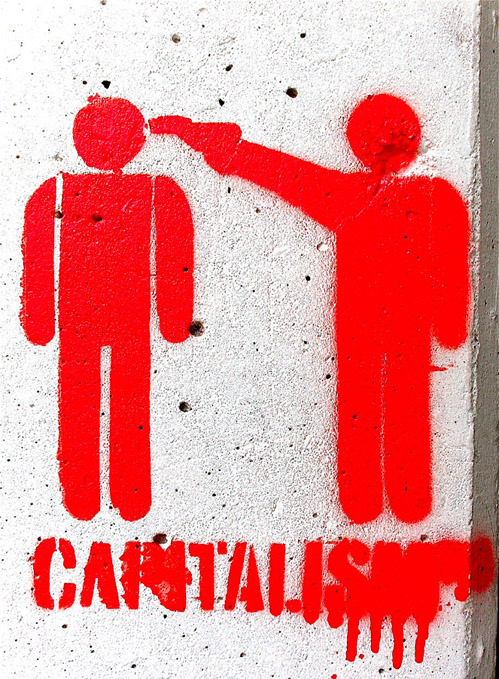 nevver:  Happy May Day  Capitalism kills