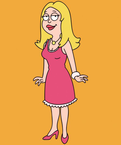 Francine Smith, If only I were a cartoon character w/ four fingers. I would steal you away (exhales), lol.
