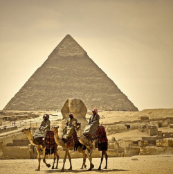 The Pyramids - Giza - Egypt