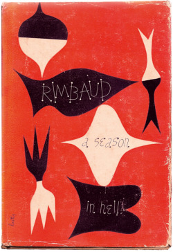 A Season in Hell, Arthur Rimbaud (F, 20s, long blonde hair with pink tips, short black skirt, black ankle boots, L train) http://bit.ly/K1nNue