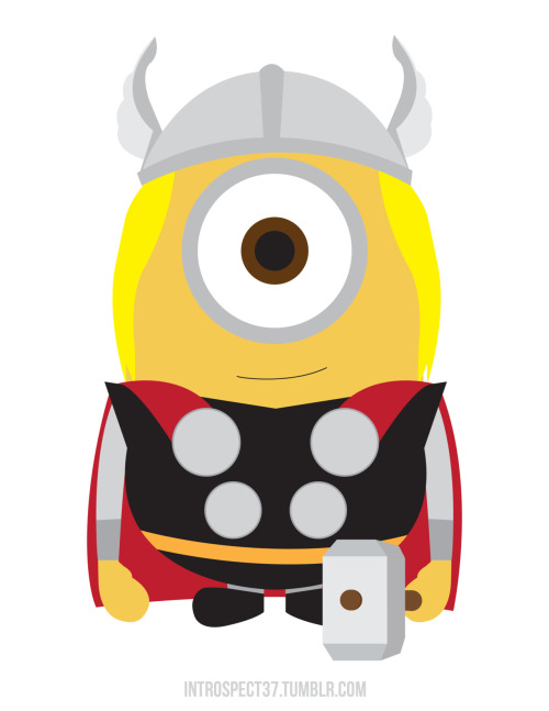 I HAS A HAMMER. Thor Minion