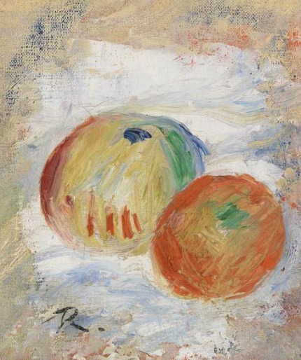Pierre-Auguste Renoir Apples 1875