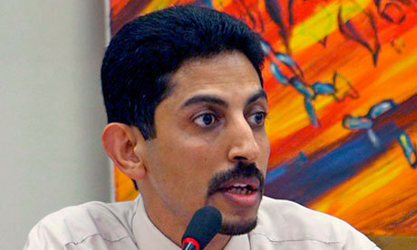 "Bahrain announces retrial for hunger striker Khawaja Political activist to be tried in civilian rather than military court as Bahrain appears to respond to international pressure Bahrain has announced a retrial for a hunger-striking political activist and 20 others accused of trying to overthrow the western-backed monarchy in the Gulf state's Arab spring protests last year.  Abdulhadi al-Khawaja is to be tried in a civilian court – rather than a military court as before – part of an effort by the Bahraini government to respond to domestic and international criticism of its policies by finding a face-saving solution. A senior Bahraini official suggested he might get a reduced sentence in a new trial. But continued protest in Bahrain was backed by Amnesty International UK yesterday, saying that, pending retrial, Khawaja and 13 others should be released from custody. Human Rights Watch also called for their immediate release, saying the set-aside verdict was ""mind-boggling"" in its lack any specific criminal offences. Khawaja, 52, was sentenced to life imprisonment for plotting against the state last summer. But a three-month hunger strike and an energetic campaign by family and supporters have kept his case in the spotlight. It was raised too in the runup to the recent controversial Formula One Grand Prix in Bahrain. Khawaja is in a military hospital in a serious condition, having lost 25% of his body weight; the Bahrain defence forces denied in a statement on Sunday that he was being force-fed. The retrial is a partial victory for Khawaja, but his family insisted he must not remain in custody. ""Abdulhadi al-Khawaja did not go on hunger strike saying death or retrial, he said death or freedom,"" his daughter Maryam wrote on Twitter. ""A retrial doesn't mean much."" Pictured: The Bahraini hunger striker Abdulhadi al-Khawaja before his arrest. Photograph: Mazen Mahdi/EPA"