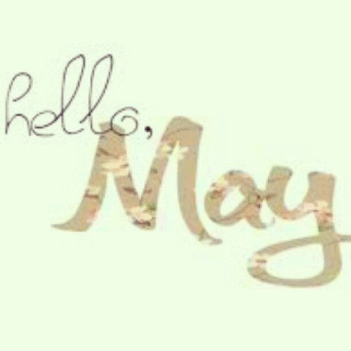 GOODBYE APRiL, HELLO MAY . . PLEASE BE NiCE TO ME !!! GOD A MONTH FULL OF POSiTiVE THiNGZ &&& BLESSiiNGZ <3 , (Taken with instagram)