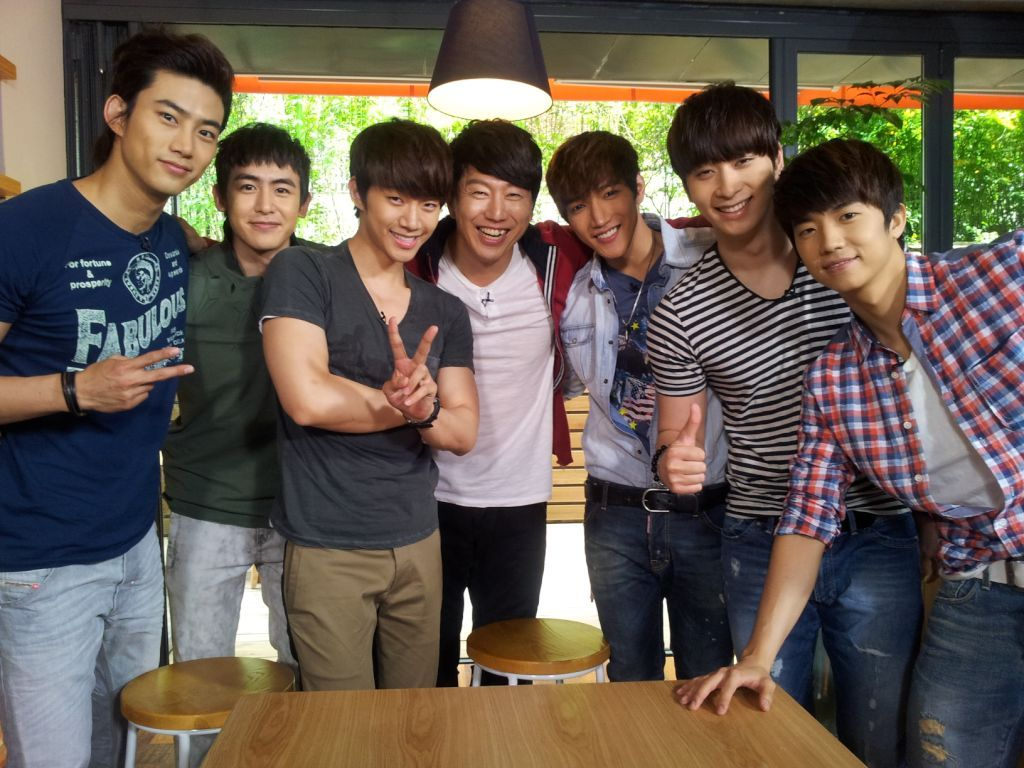 @KimSooro: 2PM is really great! The boys were really really cool! I'm so happy to work together with them for God of Victory! Hehe