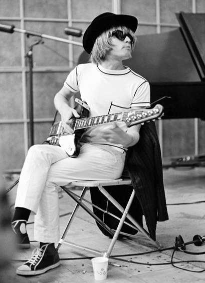 funkyrockstarr:  Brian Jones  Seriously?! Are those old school Chucks he's wearing? Love this look. Loved his playing.