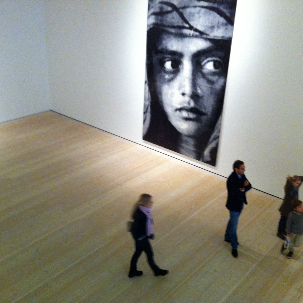 Saatchi Gallery, a few days ago (iPhone)