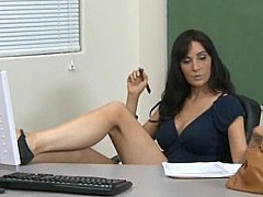 *** Licking my teacher's pussy. Oral sex *** Long quality porn video.