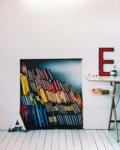 books and letters (via desire to inspire)