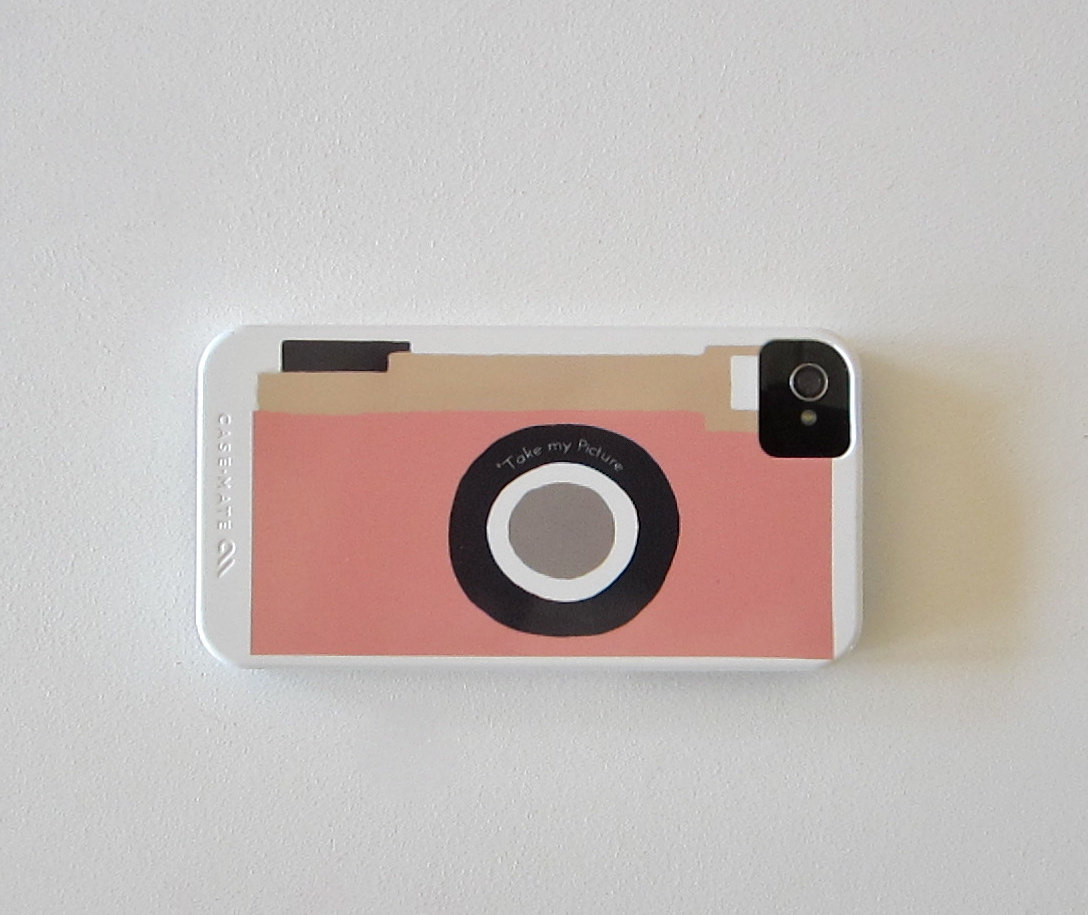 Camera Pink Vintage Retro iPhone 4 / iPhone 4s case Modern Mint redtilestudio  Part of a retro inspired series we are working on this vintage camera just seemed to be made for an iphone cover. This designs comes in three different colors: green, blue and pink.  (by redtilestudio)
