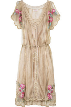 Matthew Williamson Lace Pearl beaded dress. Gorgeous! No longer available.