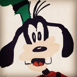 #drawsomething #goofy (Taken with instagram)