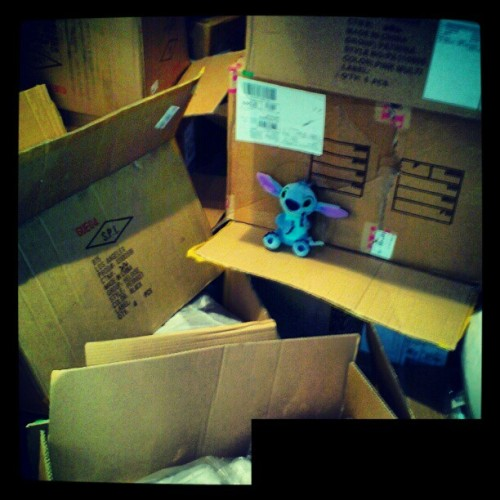 #shipment #work #stitch #overnight #dead (Taken with instagram)