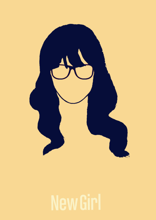 New Girl minimalist poster # 2