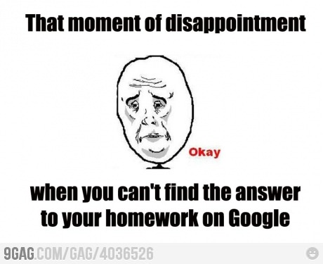 9gag:  Moment of disappointment
