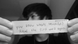 ranzismyname:  you know whats beautiful? read the first word again