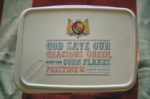 The Royal (cornflakes) Box