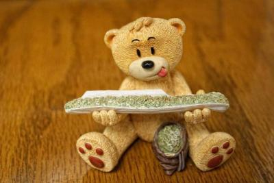 Wake and Bake for teddy bear ;)