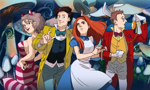 oooyooo:  — Doctor Who + Alice in Wonderland? Request in twitter.