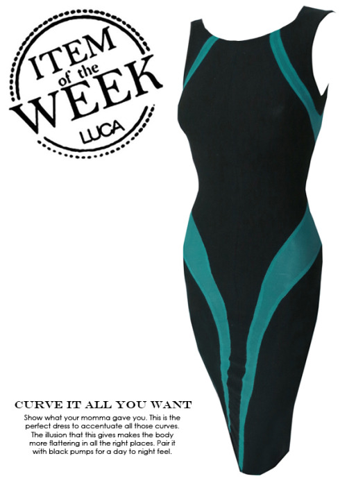 ITEM OF THE WEEK: IRIS DRESS (P2,400)Now available at http://www.shopluca.com