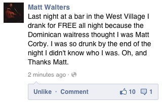 echo-on:  Oh Matt, you legend!  dkashjgifsdhuf hahahahahahah love.