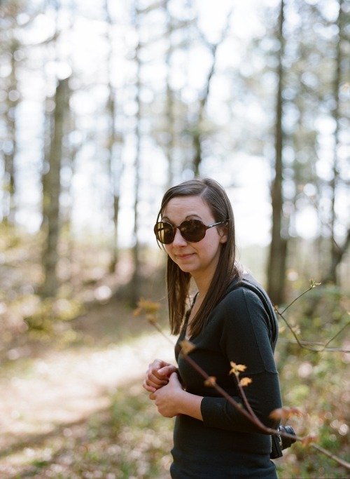 +It's May! Get to make this pretty lady my bride this month!  Via Mamiya 645 w/ portra 400 in 220