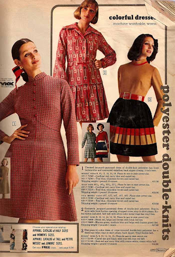 Sears polyesters double knits-1970s