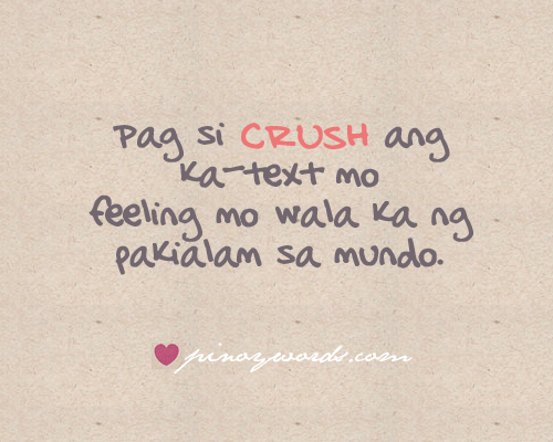 kawaiisecrets:  Follow  p i n o y w o r d s  for more pinoy quotes! ♥