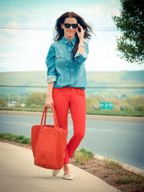 lookbookdotnu:  Spring essentials  (by Veronica P)