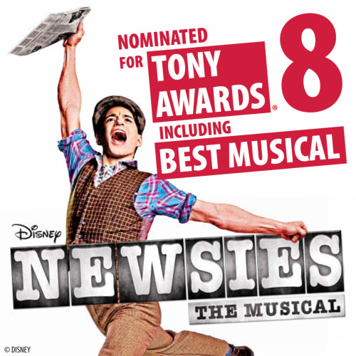 SQUEE! newsiesthemusical:  We're so honored and excited! Thank you for all your kind messages of support!
