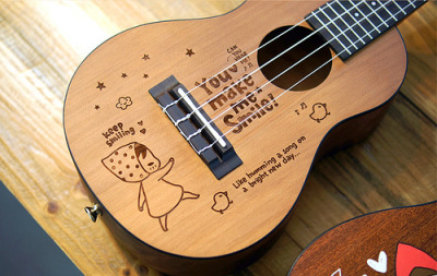 dryumbrellas:  Pony Brown Ukulele (by Patrick Ng)