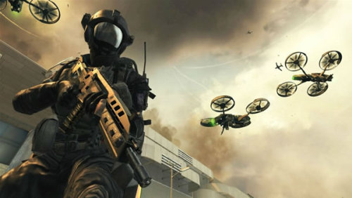 I'm not a massive fan of futuristic first person shooters. They tend to get a little silly. Call of Duty doesn't want to be getting any sillier.