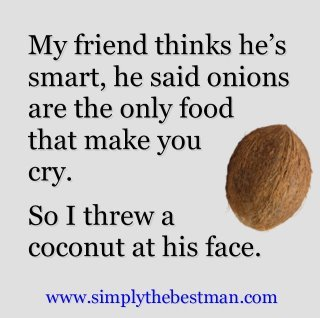 m:  LOL. BRB getting a coconut.